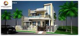 8 marla duplex 5 BHK facing park house for sale in sector 91 . JLPL Mo