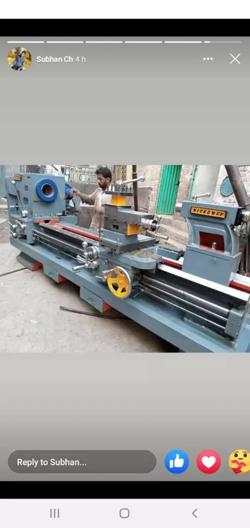 12Foot Lath Machines&Durm Polish+ H Press+lath available in all sized 0