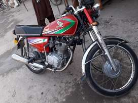 Honda CG 125 Red 2013 For Sale
