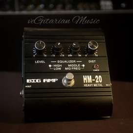 preamp gitar big amp heavy metal hm2