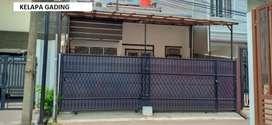 Rumah Kelapa Gading BCS 7x15m 1,5lantai, siap utk dihuni  MURAH AJAH