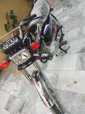 Honda 125 new Shape with New sticker