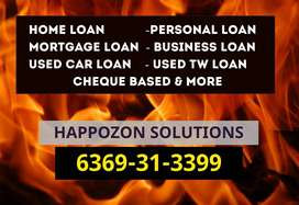 INSTANT Used Car mortgage loans Personal Loan/home loans,& Cheque Loan