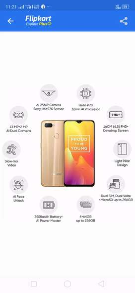 Realme u1 Under guarantee set