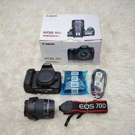 JUAL CANON 70D SECOND MULUS
