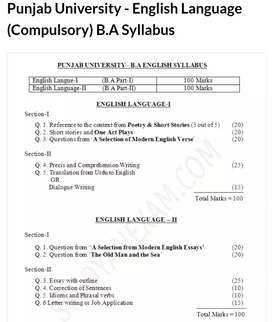 ENGLISH CLASSES FOR BA STUDENTS