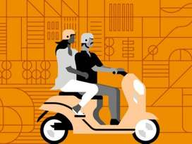 uber moto bike taxi daily earn above rs,1500