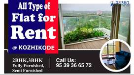 All type of flats in Calicut City.
