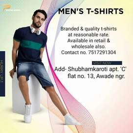 Branded & quality t-shirts
