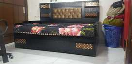 Sofa/Diwaan cum Double Bed with storage purchased  From Glass Palace..