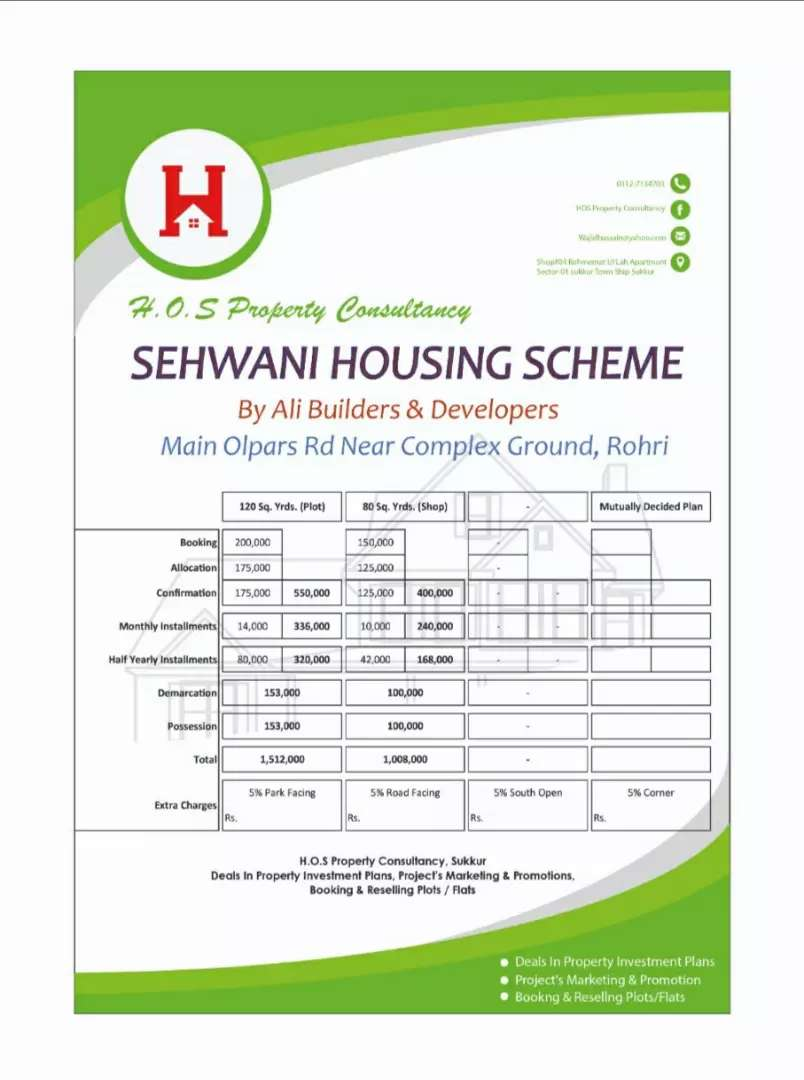 Sehwani Housing Scheme 0