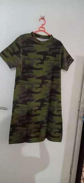 Dress kaos cewek