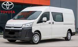 Get New Toyota Hiace on just 20% Down payment.