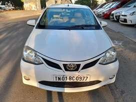 Toyota Etios Liva 1.2 G, 2017, Petrol