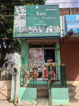 Ladies beauty parlour - For sale all furnitures inside