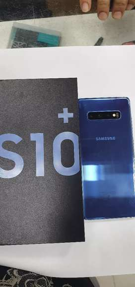 Galaxy S10 plus, 128gb Memory, 8gb Ram, Prism Blue colour