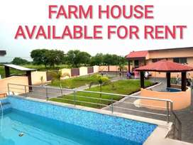 FARM HOUSE  ON RENT @ 2500/- per day