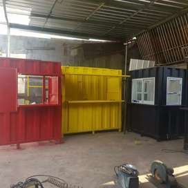 Booth container untuk jualan/booth dagang