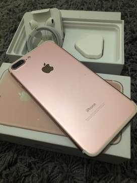 iPhone 7 Plus 128GB Rosegold Mulus