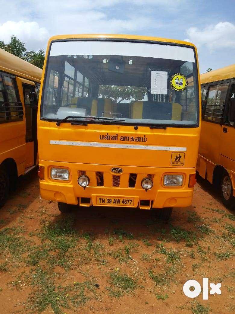 school bus mahindra 25 seats 0