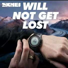 Jam tangan skmei original 1254 (compass)