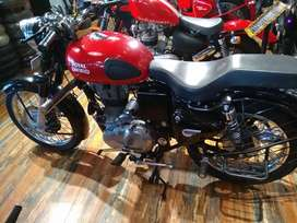 Brand new classic motorcycle
