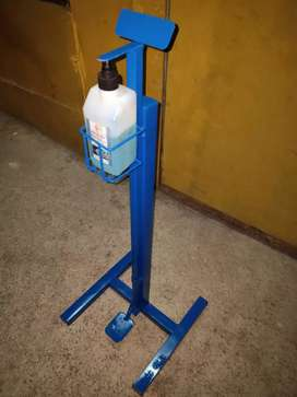 Foot operated sanitizer dispenser stand 1350/-