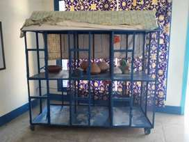 A Bird Cage For Sale_6 quite large Cabins . Serious Buyers can contact