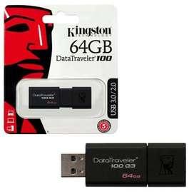 Flashdisk Kingstone 64GB Sudah USB 3
