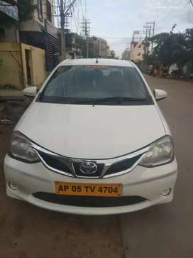 Toyota Etios 2015 Diesel 174000 Km Driven Life tax vehicle 2 airbags