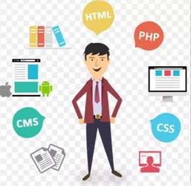 Web developments /website creation/ data entry/ graphic designers