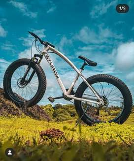 ((Sara))STURDY 21 GEAR FAT TYRE HIGH QUALITY NEW CYCLE AVAILABLE