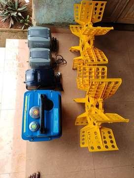 Used Fish Farm Equipments