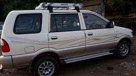 Chevrolet tavera model with central air conditioner with insurance  .