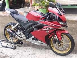 Yamaha R15 V3 Kodya, Pajak Baru, KM rendah, Banyak Variasinya