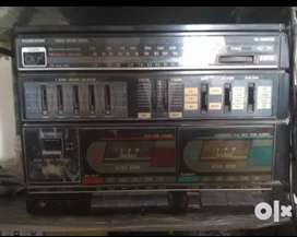 USB PORT Old Stereo with speakers Videocon