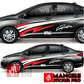 Keren Langsung Proses Tanpa Ribet Stiker Mobil Mangele Premium Bandung
