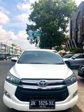 Toyota Kijang Innova Reborn G 2.0 G AT Putih 2018(ODO RENDAH 20ribuan)