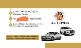 Luxury cars available for rent and weddings and eveand with driver