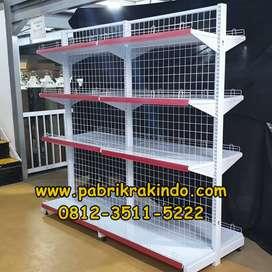 Jual Rak Gondola Toko Rak Minimarket Rak Gudang Langsung Pabrik