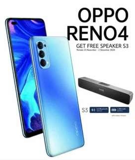 OPPO RENO4 Promo. Beli Sekarang Dapat Speaker Bluetooth Keren