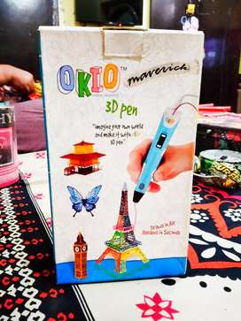 Okio 3D Pen With Box and Accessories