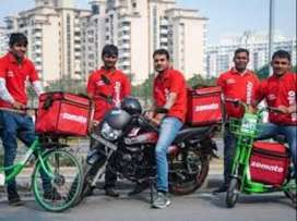 250 food delivery boys wanted immediately joining