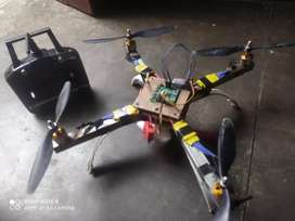 Fully assemble flying drone
