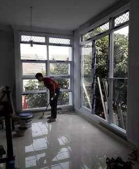 Jendela kaca dan partisi kaca alumunium mewah