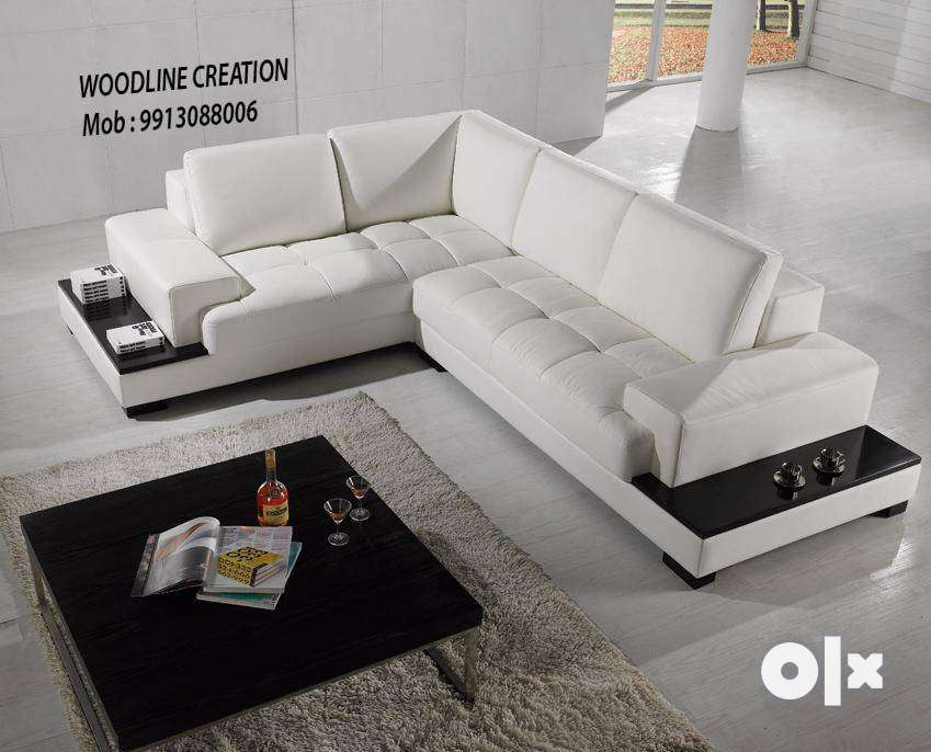Brand New Designed Living Room L Shape Sofa Set 0