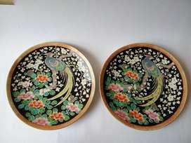 Mangkok dinasti ming dan piring antik kuno