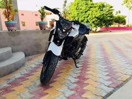 Yamaha FZ25 white colur