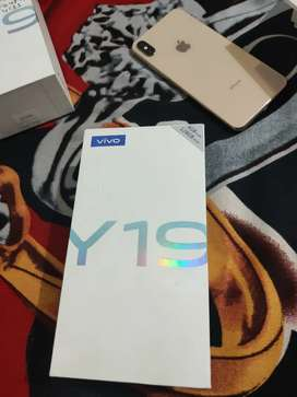 Vivo Y19 128gb intenral fast charging 5000 mahh battry nd much moreee