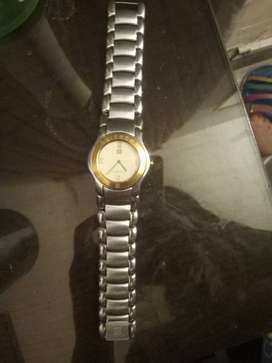 original imported givenhy swiss movt prestige gold plated watch